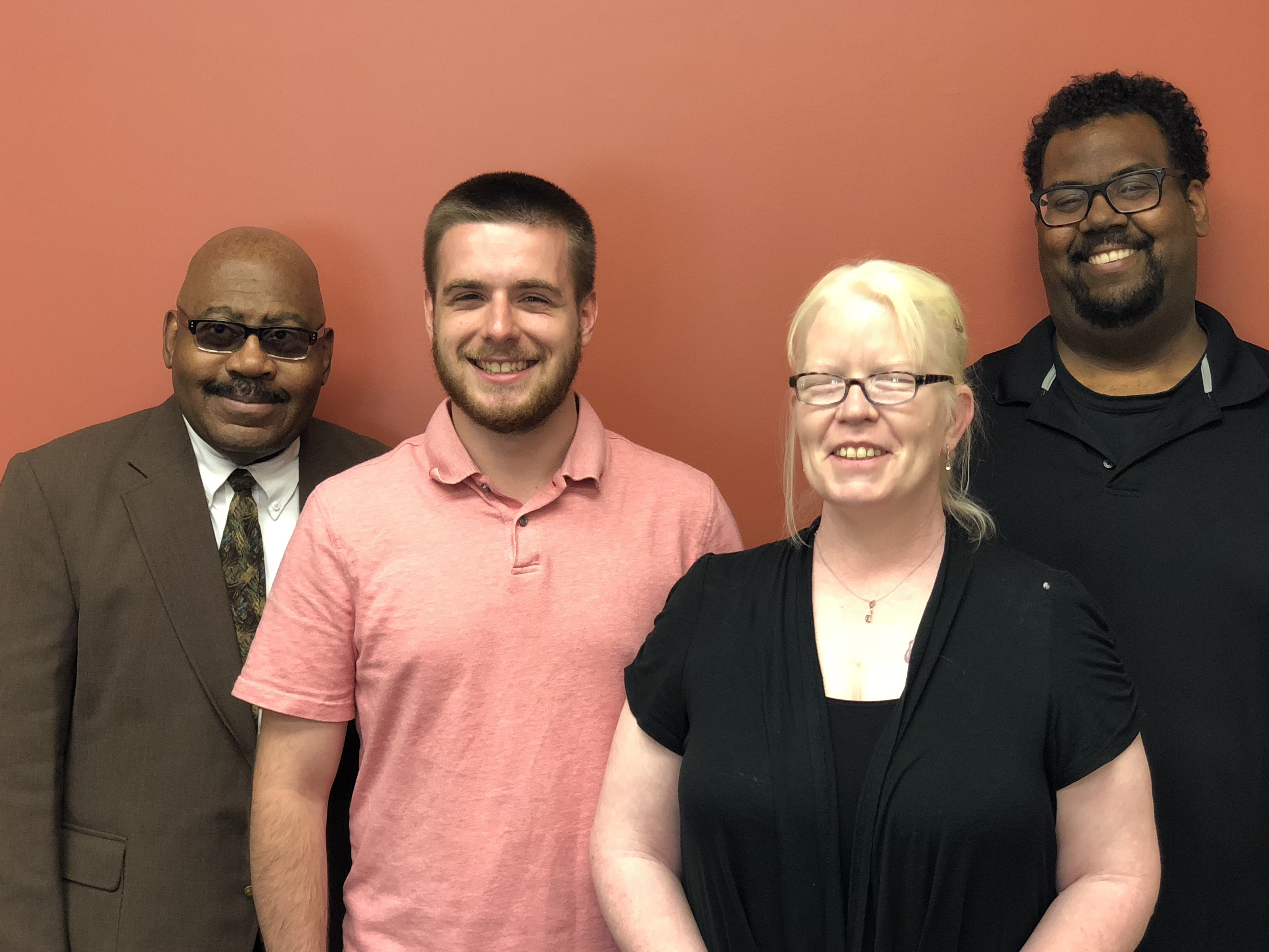William, Steve, Misty, and Tommie - Sales Support Team
